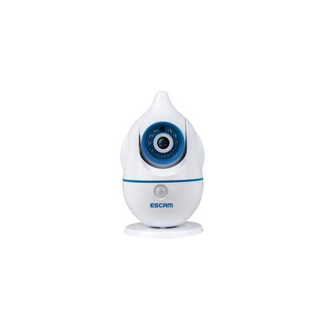 Auto-hightech Camera Ip wifi Hd 1.0MP 720P Cmos , prise en charge de la détection de Mouvement et la