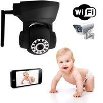 Yonis - Caméra ip wifi motorisée tablette smartphone babycam surveillance bébé