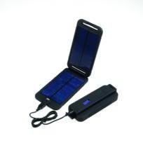 Powertraveller - Chargeur Solaire Powermonkey eXtreme Noir