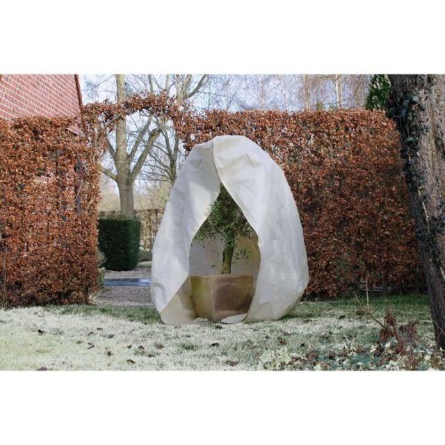 PAILLAGE - VOILE - PROTECTION CULTURE Housse d'hivernage 70 g/m² - Ø 250 cm x 3,00 m - Beige