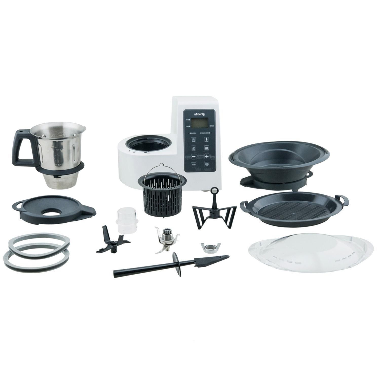 h koenig robot culinaire hkm1028 achat robot multifonction. Black Bedroom Furniture Sets. Home Design Ideas