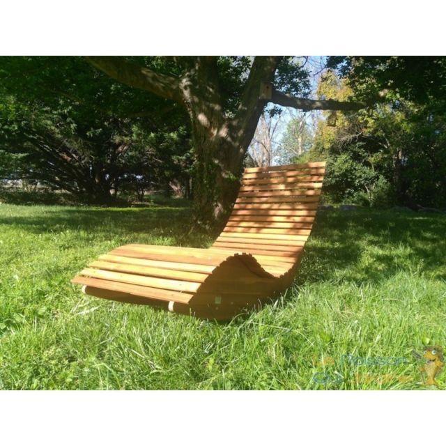 56bb867c342019 Aqua Occaz - Fauteuil - Transat à bascule, en Acacia. Design. Pour  l intérieur et l extérieur - pas cher Achat   Vente Transats, chaises  longues - ...