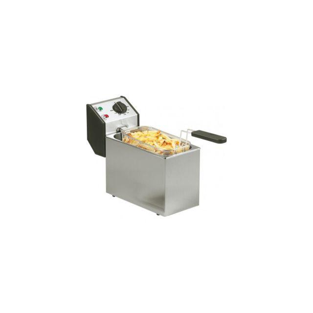 Materiel Chr Pro Friteuse à Poser Cuve 5 L - 3,2 kW - Stalgast