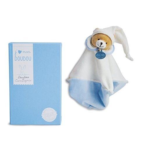 Doudou Et Compagnie - Doudou 202 L'original Ours Bleu