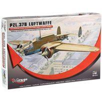Mirage Hobby - 481312, Pzl.37B Allemande Version - Kit De ModÈLE En Plastique Luftwaffe Varsovie-okecie De 1940