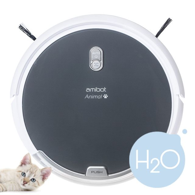 amibot robot aspirateur et laveur animal h2o achat. Black Bedroom Furniture Sets. Home Design Ideas