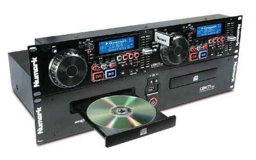 Numark cdn77USB - double Cd Rackable Mp3/USB