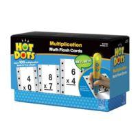 Educational Insights - 2759 Hot Dots Math Flash Cards - Multiplication