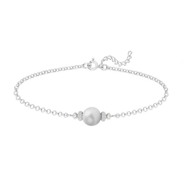 bracelet argent swarovski femme