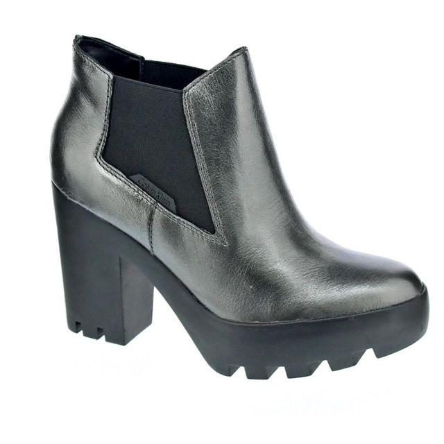 Cher Pas Femme Klein Chaussures Calvin Sandy Modele Bottine Zp8Hwq