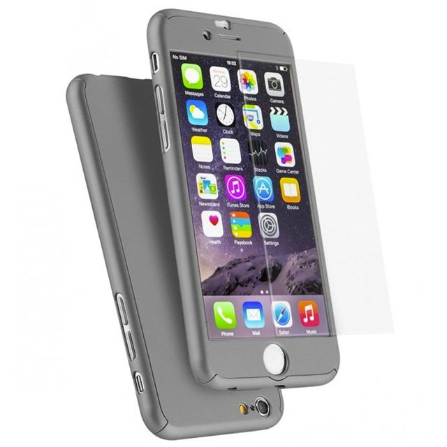 coque iphone 6 360 gris