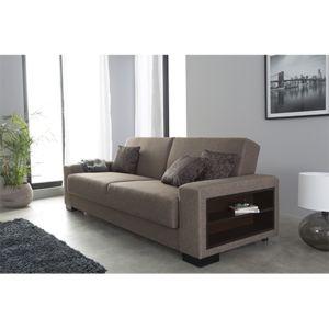 Sofa Story - Canapé convertible Escalade - Tissu 233x98x85 - Réversible