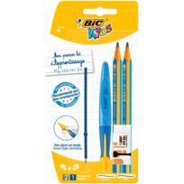 Kit d'apprentissage Kids - 1 Stylo bille + 2 Crayons à papier