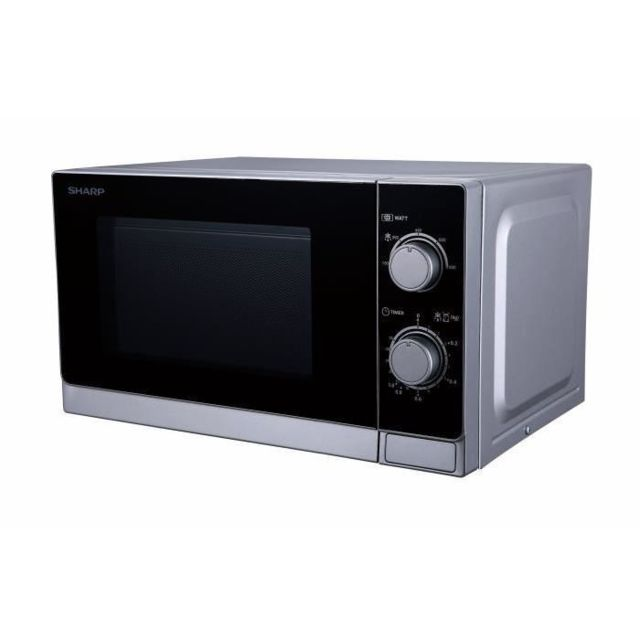 Sharp - Four à micro-ondes 20 litres R200INW silver