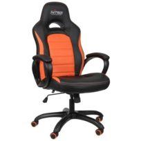 Nitro - Concepts C80 Comfort Fauteuil Baquet Gaming Noir et Orange