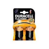 MKT - Pack de 2 piles Duracell Plus Power MN1300/LR20 Mono D