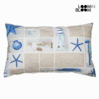 Marque Generique - Coussin rectangle au thème océan coquillage 30 cm X 50 cm - Textile et Linge de Maison