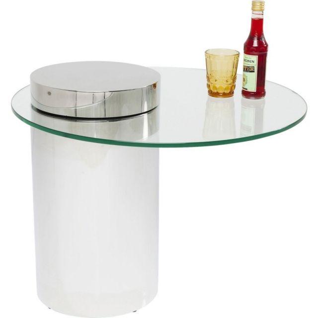 Karedesign Table Basse Duett 65cm Kare Design Argent 65cm X 54cm