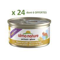 Almo Nature - Promo 24 Boites De Mousse au poulet Daily menu 85G