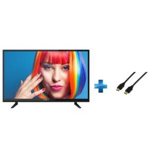 TV Led 32 pouces + Cordon HDMI 1.4 - 1.5 mètres_0