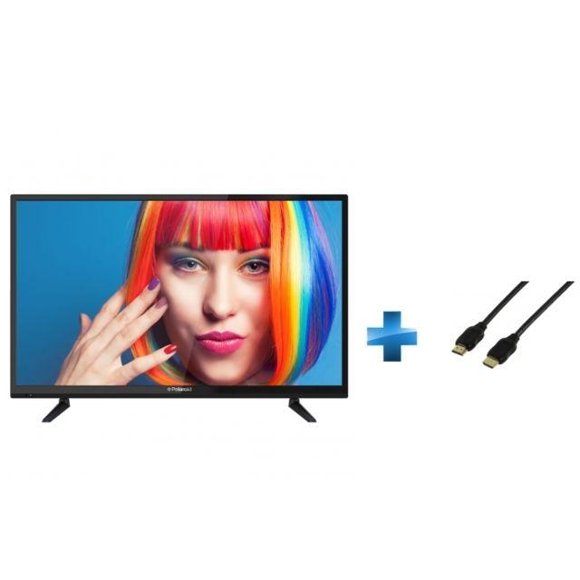 TV Led 32 pouces + Cordon HDMI 1.4 - 1.5 mètres small