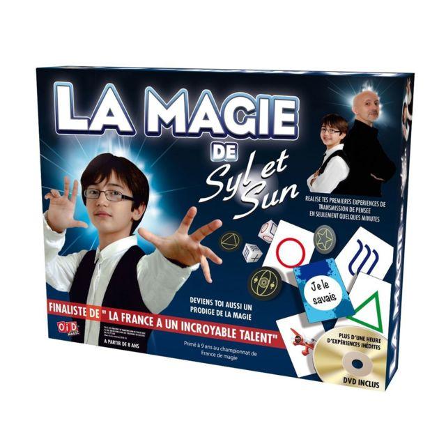 Megagic Magie : Coffret Syl et Sun + Dvd