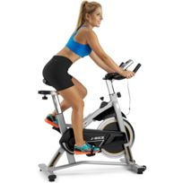 BH Fitness - J-bike H9135RF velo biking. Idéal pour initiation. Volant d?inertie 18Kg