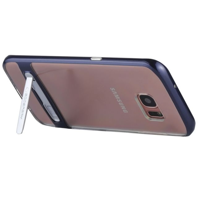 Wewoo - Coque renforcée bleu foncé pour Samsung Galaxy S7 Edge détachable  galvanoplastie cadre pare- 498279f03708