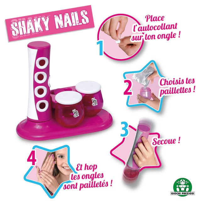 VERY BELLA 100% NAIL - Coffret Onglerie Shaky Nail - 8486 Very Bella 100 % Nail - Shaky Nail