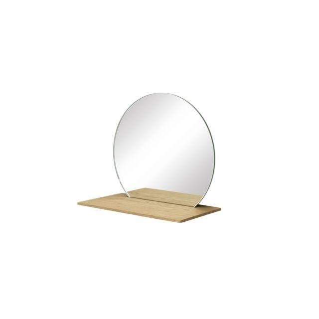 SchÖNBUCH Miroir avec étagère Cut - S 46Noir