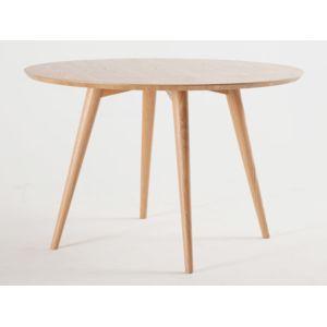 Kaligrafik table manger ronde en bois diam tre 120cm - Table a manger carrefour ...