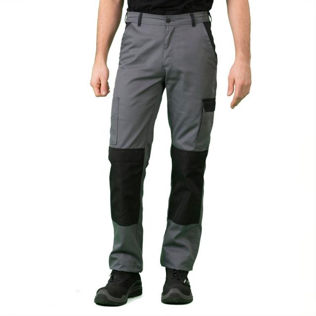 Label De Pantalon Gris Non Noir Travail Blouse Workwear Homme qrEFrw