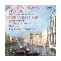 Claves - Musique venitienne - Six concertos pour flûte