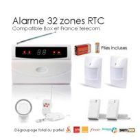 SecuriteGOODdeal - Pack alarme maison de 32 Zones, Medium Box
