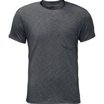 Jack Wolfskin - Travel - T-shirt manches courtes - gris