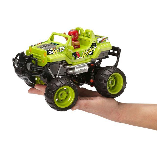 REVELL RC-Junior Crash Car REVELL CONTROL JUNIOR : Une gamme RC pour les plus petits. A partir de 3 ans. Quelques accessoires à monter rapidement. Ludique (pas de batteries) et simple d'utilisation