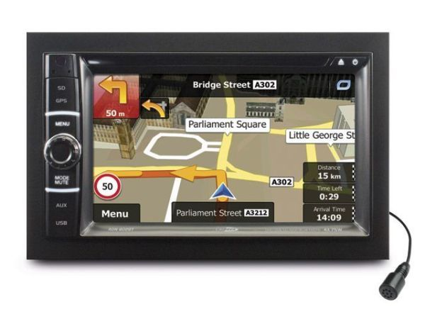 Caliber Autoradio/VIDEO/GPS Rdn 802BT