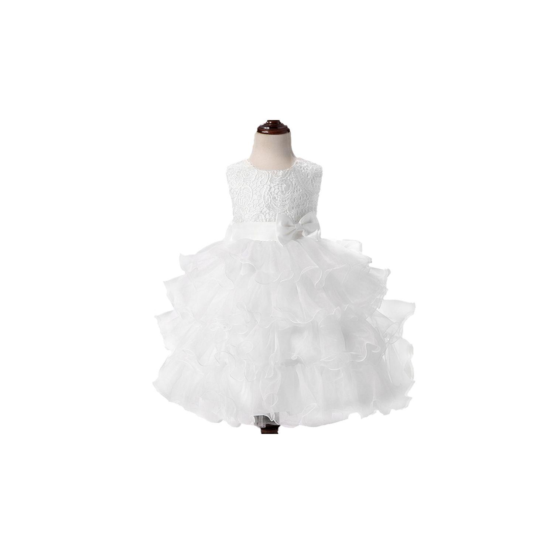GLAREOLA- Robe enfant élégante de Cérémonie Mariage Soirée Cocktail  Demoiselle D honneur et baptème f09d735f75d