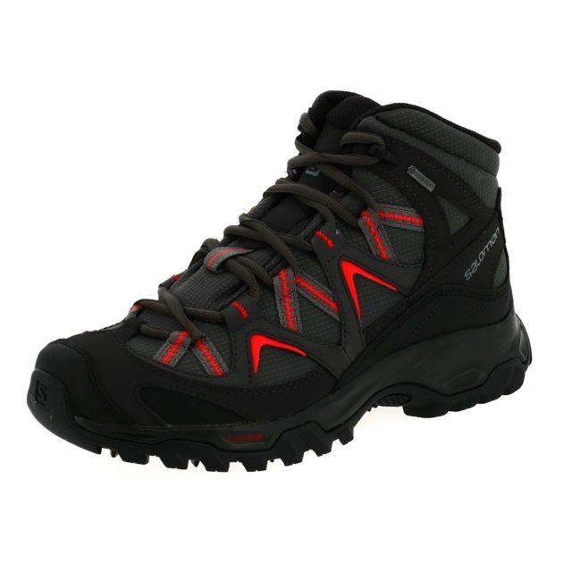 Chaussures marche randonnées Bekken mid gtx anth l Gris 17757