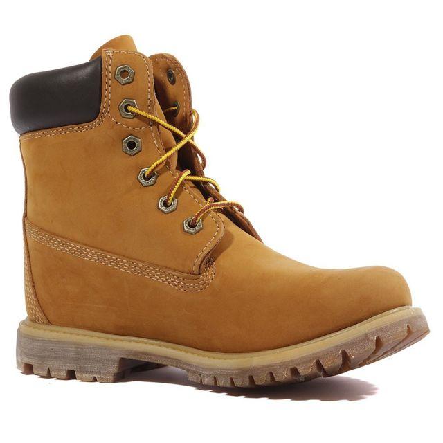 6 In Premium Femme Boots Marron Multicouleur 37