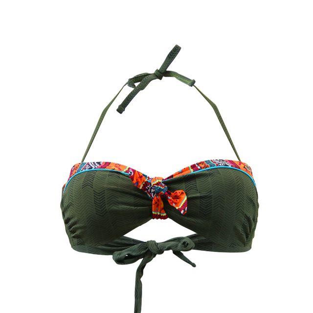 Banana Moon Haut de bikini : Bandeau YANO KILAVEA - Kaki Site Officiel npcLWzeI