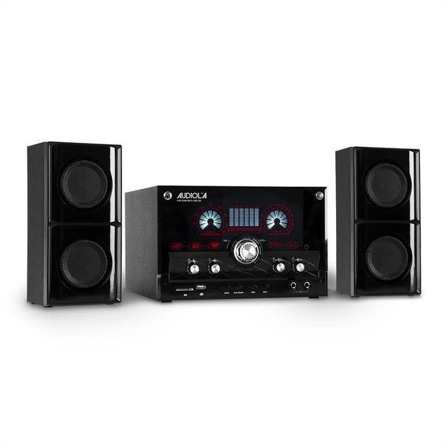 MAJESTIC Audiola AHB-2290K Système audio 2.1 USB SD radio AUX + micro