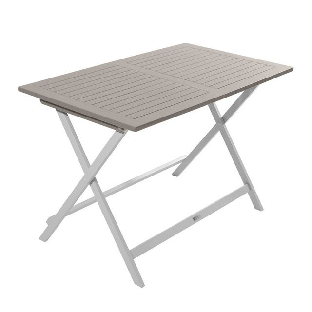 City Green - Table de jardin rectangulaire pliante en acacia ...