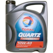 Total - Huile Moteur Quartz 7000 Energy 10W40 - Bidon de 5 L