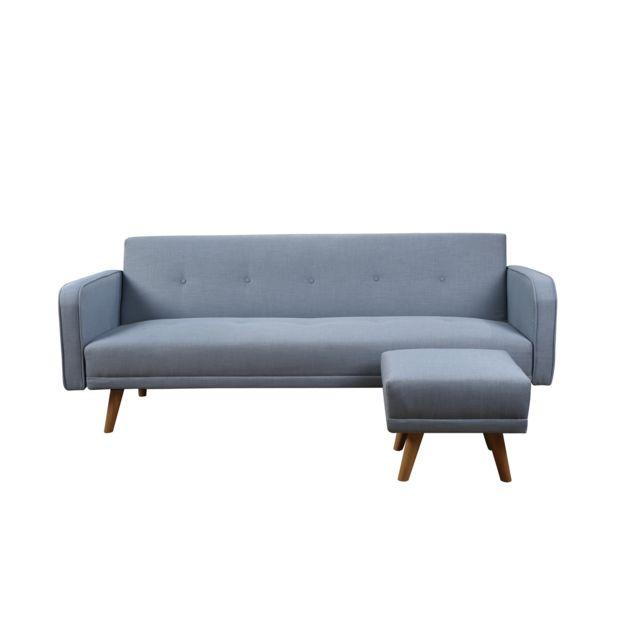 bestmobilier hawai canap clic clac scandinave 3. Black Bedroom Furniture Sets. Home Design Ideas