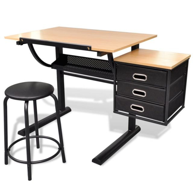 Marque Generique Icaverne Tables A Dessin Collection Table A