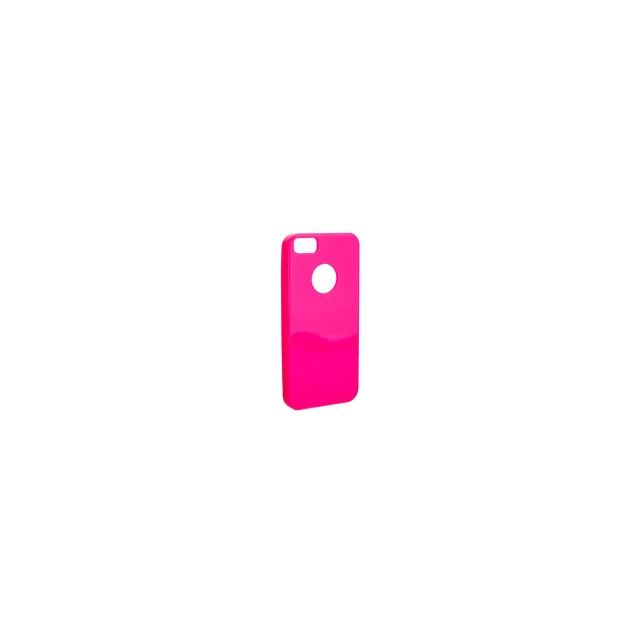 Enjoy - Coque silicone Flex case Matt iPhone 5 / 5S rose