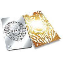 """V Syndicate Grinder Card - Carte grinder """"Rugissement du Lion"""