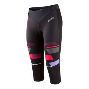 Nalini - Cuissard corsaire Pink Label Nese sans bretelles noir rouge femme