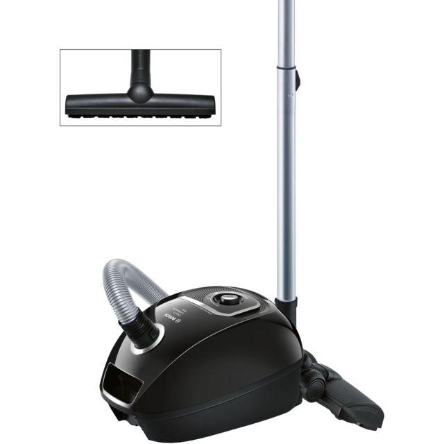 Bosch Aspirateur avec sac GL40S Cosyy'y ProSilence BGLS4S4A Aspirateur avec sac - 4 L - 700 W - Classe A - 66 dB - 28 kWh - Rayon d'action 10 m - Position parking et rangement - Indicateur de changement de sac - Poignée ergonomique